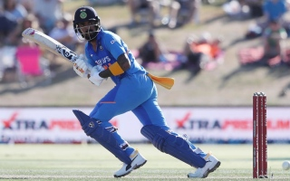 Photo: Rahul ton as India fight to avoid New Zealand clean sweep
