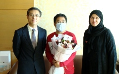 Photo: UAE announces two new Coronavirus patients have recovered
