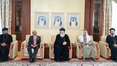 Photo: Nahyan bin Mubarak receives Supreme Head of the Universal Syriac Orthodox Church