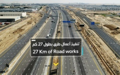Photo: RTA opens last two phases of roads leading to Expo 2020