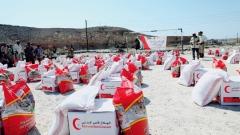 Photo: UAE provides 48 tonnes of food aid to residents of Hadramaut