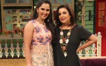 Photo: Sania's hunt for the director