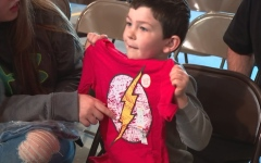 Photo: 5-year-old who rescued family from fire gets honor