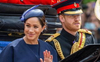 Photo: Duke and Duchess of Sussex 'remain in talks over royal brand'
