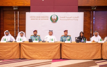 Photo: ISNR Abu Dhabi's Higher Organising Committee discusses latest preparations