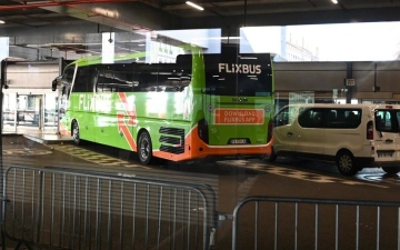 Photo: Bus passengers from Italy blocked in France in coronavirus scare