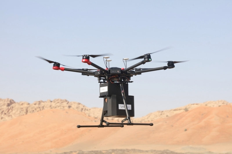 Photo: MOCCAE carries out drone-enabled planting project across 25 locations