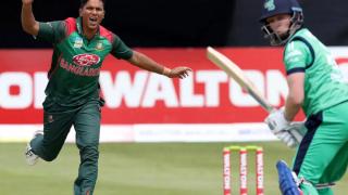 Photo: Ireland-Bangladesh cricket series postponed due to coronavirus