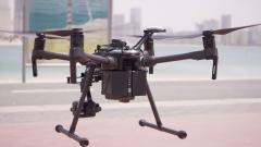 Photo: Dubai Police use drones to reinforce coronavirus precautionary measures