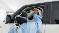 Photo: Mohamed bin Zayed opens drive-thru COVID-19 test facility