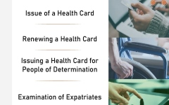 Photo: MoHAP issues, renews health cards through e-services