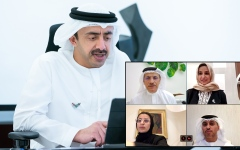 Photo: Abdullah bin Zayed presides over virtual meetings of Education and Human Resources Council