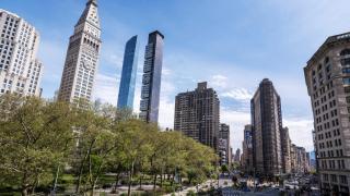 Photo: Urban air quality improves in US as coronavirus empties highways