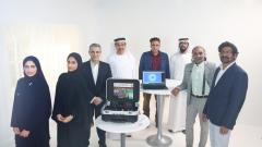 Photo: UAE develops a rapid coronavirus laser testing technology