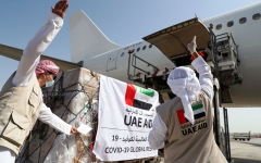 Photo: UAE sends medical aid to Tajikistan in fight against COVID-19