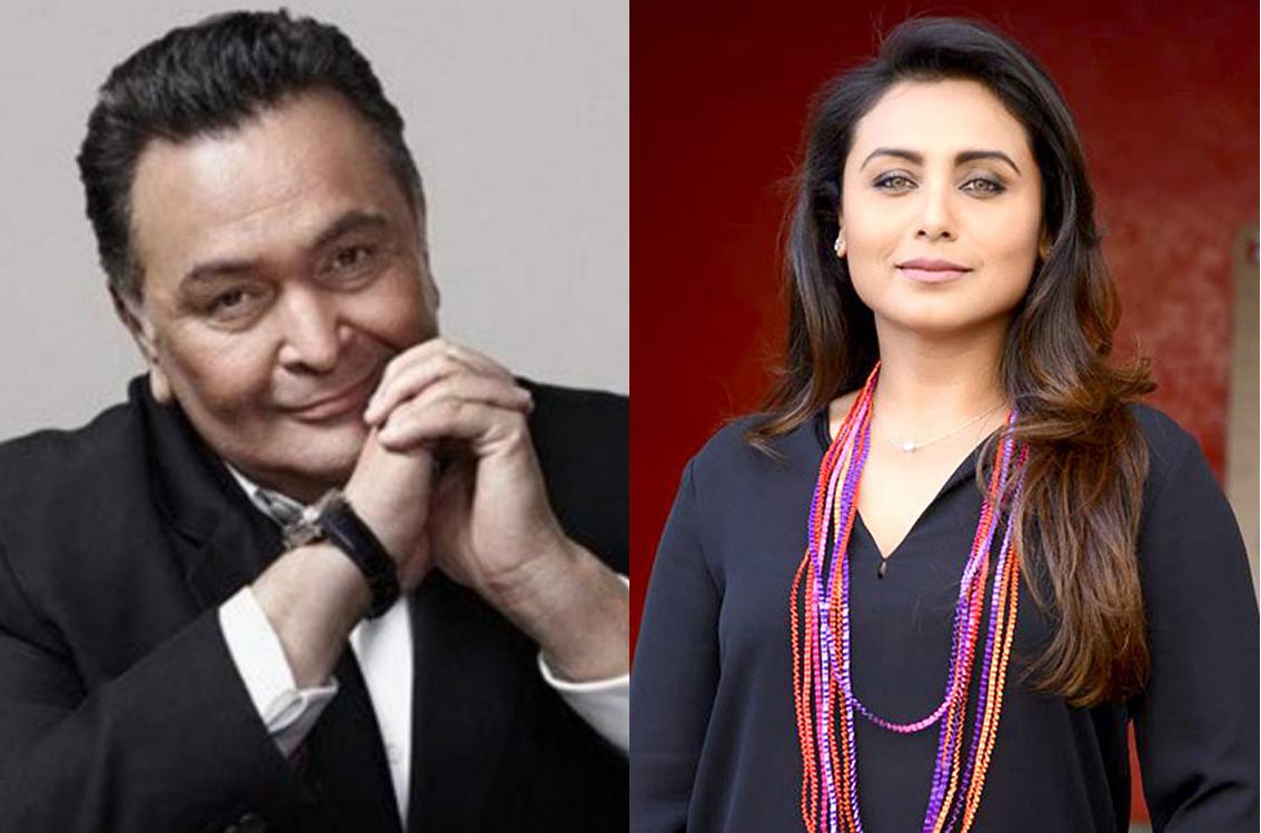 Photo: Rani Mukerji remembers Rishi Kapoor!
