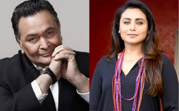 Photo: Rani Mukerji remembers Rishi Kapoor!