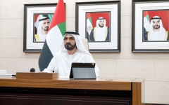 Photo: Government worked remotely with efficiency: Mohammed bin Rashid