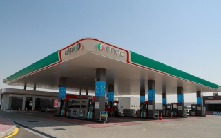 Photo: ENOC Group opens new service stations in Lehbab and Al Qudra
