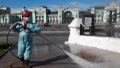 Photo: Russia reports 8,835 new coronavirus cases in last 24 hours
