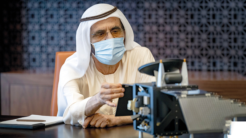 His Highness Sheikh Mohammed bin Rashid Al Maktoum, Vice President, Prime Minister and Ruler of Dubai, has reviewed the final preparations of the Hope Probe, scheduled to launch to Mars on 15th July.The meeting was chaired by H.H. Sheikh Hamdan bin Mohamm