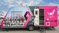 Photo: Pink Caravan brings its medical minivan to Ajman