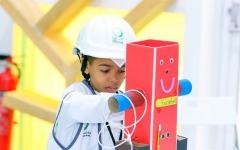 Photo: DEWA organises the 8th Future Engineer Summer Camp online