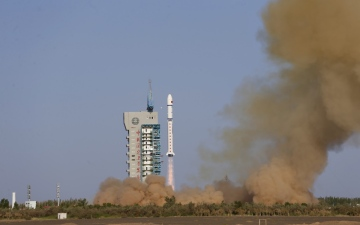 Photo: China launches satellite for space environment study