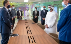 Photo: Hamdan bin Mohammed launches 3D Printing Strategic Alliance