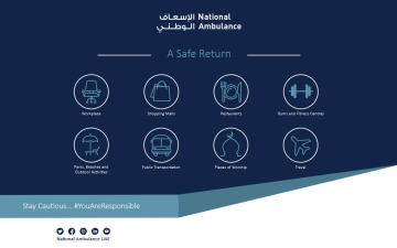 Photo: National Ambulance launches 'A Safe Return' campaign