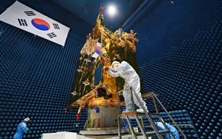 Photo: South Korea seeks joint Moon, Mars explorations with UAE as Hope Probe supports its lunar mission