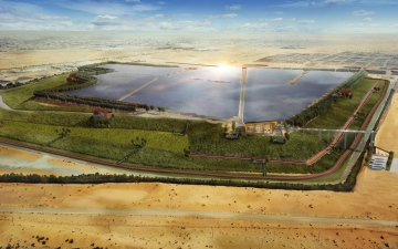 Photo: Bee'ah launches region's first solar energy landfill project