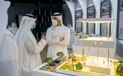 Photo: Khalid bin Mohamed bin Zayed launches Baniyas North