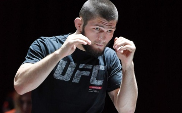 Photo: UAE continuing to impress world by hosting major sporting events: Khabib Nurmagomedov