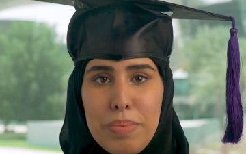 Photo: Sheikha Fatima bint Mubarak applauds graduates at 2020 virtual commencement ceremony