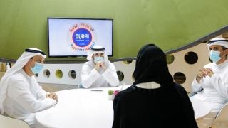 Photo: Hamdan bin Mohammed reviews KHDA's preparations for the new school year
