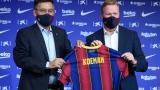 Photo: Ronald Koeman appointed Barcelona coach after Quique Setien sacking