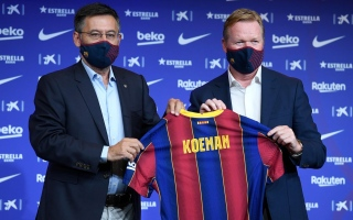Photo: Ronald Koeman appointed Barcelona coach after Quique Setien sacking