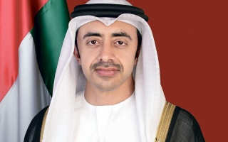 Photo: Abdullah bin Zayed arrives in Washington to sign UAE-Israel peace accord