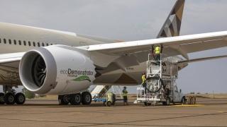 Photo: Boeing, Etihad Airways and World Energy lift sustainable aviation fuel to the next level on ecoDemonstrator programme
