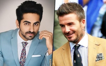 Photo: Ayushmann bends it like Beckham